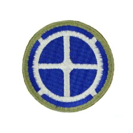 img-35th Infantry Division Patch (WW1 + WW2 Repro) US Army Badge Uniform Insignia