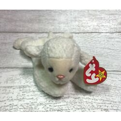 Fleece Lamb 5th Generation 1996 Retired Ty Beanie Baby Collectible Gifts Mint
