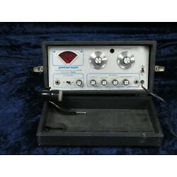 Kyпить Vintage Peterson Chromatic Tuner Model 520 Ser#isi8921-10 Functioning with Mic на еВаy.соm
