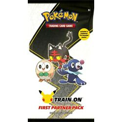 Kyпить Pokemon TCG 25th anniversary First Partner Pack Alola Brand New Factory Sealed на еВаy.соm