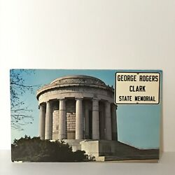 Kyпить George Rogers Clark Memorial Vincennes Indiana Postcard на еВаy.соm
