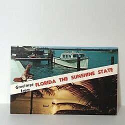 Kyпить Greetings From Florida the Sunshine State Postcard на еВаy.соm
