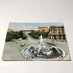 Kyпить Roma Esedra Fountain and Termini Station Postcard на еВаy.соm