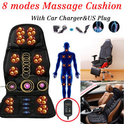 Kyпить 8 Mode Massage Seat Cushion with Heated Back Neck Massager Chair for Home & Car на еВаy.соm