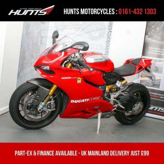 2013, '13 Ducati Panigale 1199R ABS. 1 Owner. ONLY 7,049 MILES. £14,995