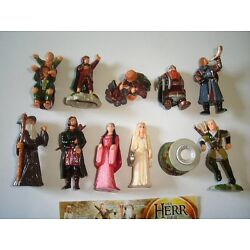 Kyпить LORD OF THE RINGS 1 LOTR KINDER SURPRISE FIGURES SET -  FIGURINES COLLECTIBLES на еВаy.соm