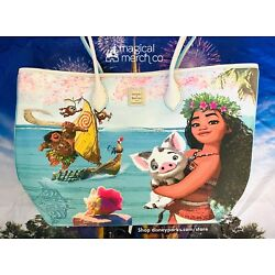 Kyпить 2021 Disney Parks Dooney & Bourke Moana Pua Maui Tote Purse Bag на еВаy.соm