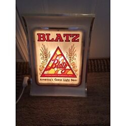 Kyпить Blatz lighted beer sign in Great Condition на еВаy.соm