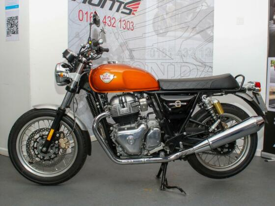 2019 '69 Royal Enfield Interceptor 650 ABS. ONLY 685 MILES. Warranty. £4,895