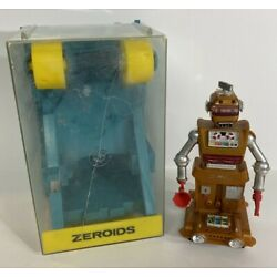 Kyпить Vintage 60s Robot Zobor Ideal Toy Zeroids 1968 Parts or Repair  на еВаy.соm