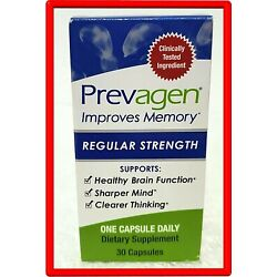 Kyпить 30 Capsules - Prevagen Regular Strength New Sealed на еВаy.соm