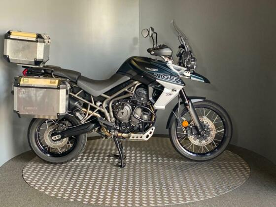 Triumph Tiger 800 XCA Adventure 2018 with 15,334 miles + Full Luggage