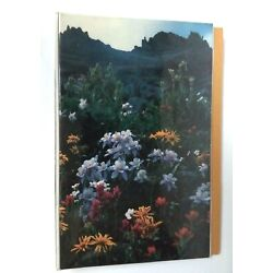 Kyпить Vintage MEAD Early Trapper Keeper Data Center Flowers & Mountains  на еВаy.соm