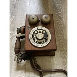 Kyпить Bell systems Westerb Electric double bell wooden phone Serial # 463643 на еВаy.соm