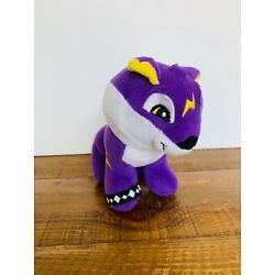 Kyпить CultureFly Animal Jam  Purple Cougar Plush Yellow Lightning Bolt на еВаy.соm