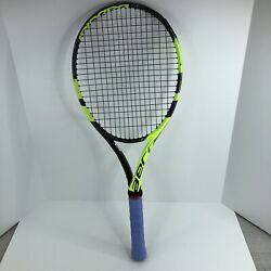 Kyпить Babolat Pure Aero 4 1/4 Grip Tennis Racquet With New Grip - A на еВаy.соm