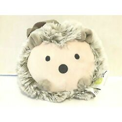 Go by Goldbug Hedgehog Plush Travel Soother Gray Vibrating Stuffed Hang Toy 6''