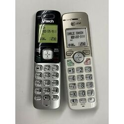 2 Non-Functioning fake cordless phones AT&T and Vtech toy mock dummy phone