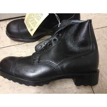 img-Genuine Parade Cadet Boots DMS Ankle British Army Combat SIZE UK6S Female