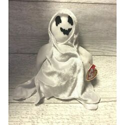 Sheets Halloween Ghost 5th Generation 1999 Retired Ty Beanie Baby Collectible