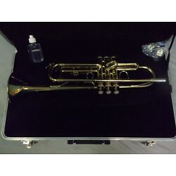 Kyпить EXCELLENT! READY TO PLAY! BLESSING USA BTR1275 TRUMPET + MOUTHPIECE + CASE  на еВаy.соm