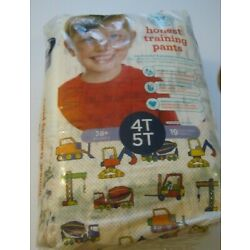Kyпить The Honest Co. Training Pants 4T 5T Construction Zone 19 COUNT Unopened Pack  на еВаy.соm