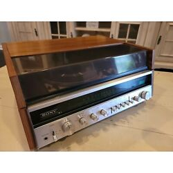 Kyпить Sony VTG Solid State Wood Turntable Stereo Music System HP-610A, tested на еВаy.соm