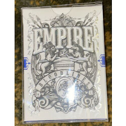 Empire Bloodlines Blue Deck Playing Cards Kings And Crooks
