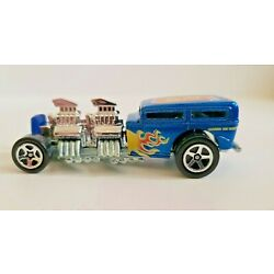 Hot Wheels 1998 Toys R US Exclusive Way 2 Fast  Blue  W/ Flames