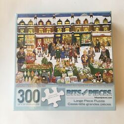 NEW Jigsaw Puzzle Alphabet Christmas Market 300 Pieces by Bits and Pieces