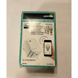 Leviton Plug-in Outlet with Z-Wave Technology DZPA1-2BW