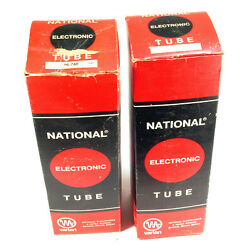 NATIONAL ELECTRONICS NL-760 INDUSTRIAL THYRATRON  ''NEW''  TWO TUBES