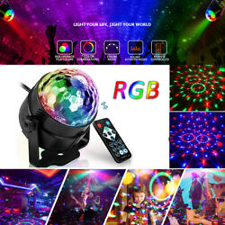 Disco Ball Party Lights Strobe Led Dj Bulb Home Dance Lamp Decor Sound Activated