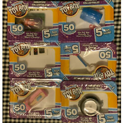 World's Smallest Micro Toy Box Series 1 5 Surprise Blind Bag Box One Per Order