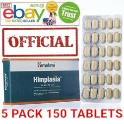 Himplasia Himalaya 5 Pack 150 tablets OFFICIAL USA Enlarged Prostate Support