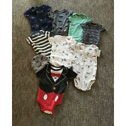 Size 0-3 Months Old Baby Boy's Lot of Clothing (new without tags)