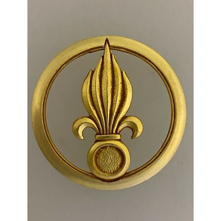 img-GENUINE French Army French Foreign Legion Infantry metal beret badge COINDERAUX