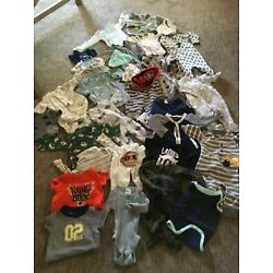 Size 0-6 Months Old Baby Boy's Lot of Clothing