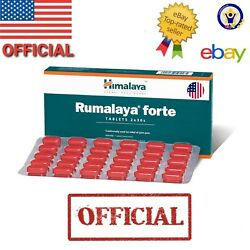 Himalaya RUMALAYA FORTE OFFICIAL USA 60 Tablets BEST Reduce Pain Back Relief