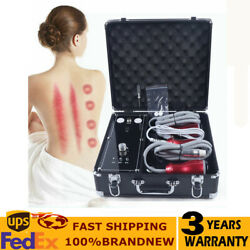 Electric Meridians Scraping Vacuum Cupping Therapy Massager Body Detoxification