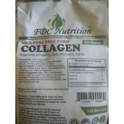 FDC Nutrition 100% Pure Free Form Collagen 500 grams