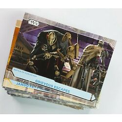 2021 Topps Star Wars Battle Plans BASE Cards (Pick Your Own - Complete Your Set)