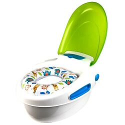 Summer Step by Potty Green Soft Contoured Seat