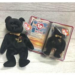 The End Bear 5th Generation 1999 Retired Ty Beanie Baby & Teenie Lot