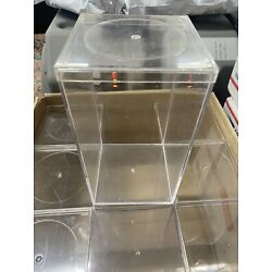 Lot of 9 Acrylic 8x4x4 Display Cases for TY Beanie Baby & Assorted Collectibles