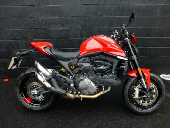 2021/21 DUCATI MONSTER 937 PLUS , EX DEMO, LATEST MODEL, IMMACULATE CONDITION