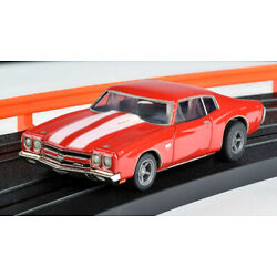 AFX Mega G+ Red 1970 Chevelle SS454 Clear Collector HO Slot Car - NEW RELEASE!!