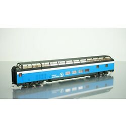 Walthers Great Northern Big Sky Blue Great Dome View Lounge HO scale