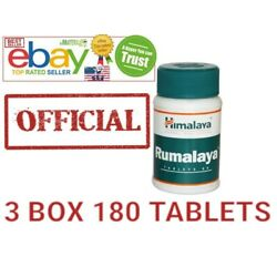 Rumalaya Himalaya OFFICIAL USA  3 Box 180 Tablets Best Relieves Joint and Bones