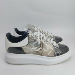 Alexander McQueen Clear Oversized Sneakers- Mens- Size 43- [604221]-Athletic